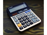 14 digit calculator with solar correction  MJ9938