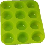 Silicone muffin mold 12 pcs deep   MB-9023