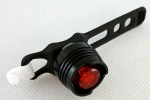 Bicycle lighting red LED rear 3 functions NEW  MJ7572-1R