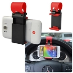 Mobile holder GSM on steering wheel   MB-5329