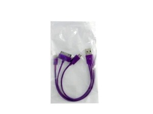 IPhone 5 iPad Cable micro USB 3 in 1 Charger  MJ4295