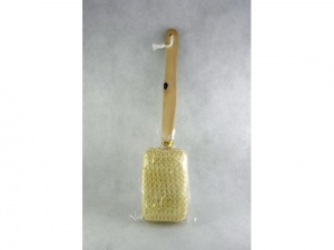 Back Scrubber Loofah with wooden handle  MJ3779