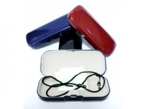 Spectacle case with string and cloth  MJ907