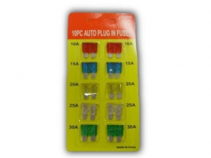 Automotive Fuses 10 pieces   NJ018