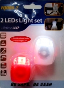 Silicone LED bicycle lights   PND-5259