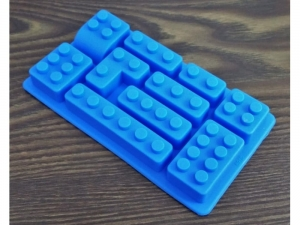 Silicone mold, LEGO blocks 10 pieces   MB-11070