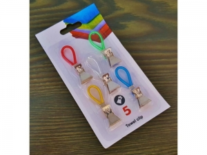 Hangers for cloths with a clip 5 pcs     KQ0446