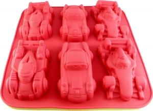 Silicone cake mold - cars  MB-9091