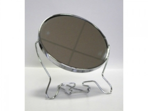 Mirror 6 inches metal double sided       KQ0187