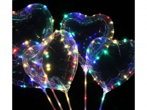 Balloon LED multicolor heart MJ11828