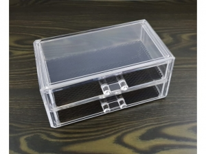 Acrylic storage box for cosmetics 19x9x10cm MJ11599