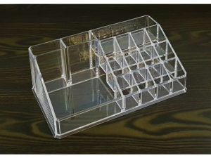 Acrylic storage box for cosmetics 21x12x8cm MJ11598