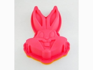 Silicone mold rabbit head 20x15cm  SM007
