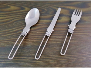 17cm steel folding cutlery MB-13954