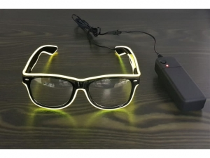 Transparent LED glasses   KQ0493