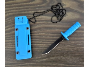 Knife with sheath survival ala tactical 12cm  MB-14030