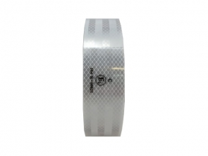 Reflective tape for marking vehicles WHITE/SILVER  MB-7873