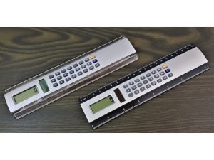 A ruler with a 20cm calculator  29710.11