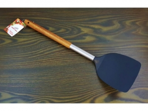 Kitchen spatula wood handle 34cm   MB-13843