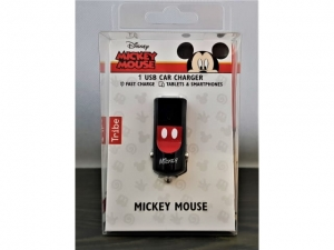 TRIBE car charger Mickey Mouse   11901