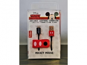 Cable Iphone Tribe Mickey Mouse 120cm   CLR21901