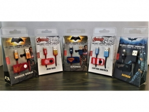 Cable Iphone Tribe BatmanAvengers 120cm  CLR23301