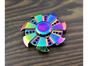 Spinner metal anodized star   S25