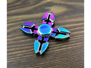 Spinner metal anodized 4 arms  S9