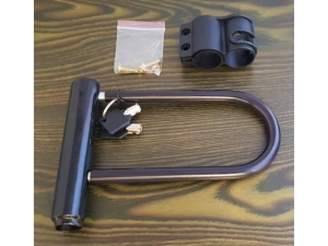 Lock for U bike with 14x20cm frame holder  MB-14054