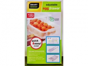 A drawer for storing 18 eggs   MB-13461