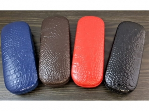 Snake skin glasses case   17609