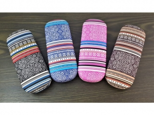Aztec boho pattern glasses case   17613