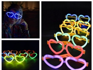 Heart light chemical glasses    MJ12042