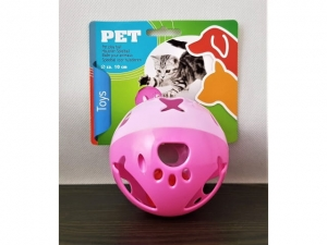10 cm ball with a bell, a toy for a cat dog   MB-14101