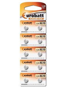 Battery Alkaline AG10 - BP10 battery Eurobatt