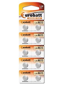 Battery Alkaline AG13 - BP10 battery Eurobatt