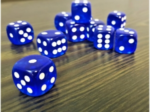 Dice 1.8cm board game  MB-14135