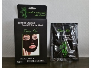 DearShe black face mask with bamboo  MB-11169