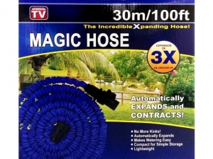 Garden hose with a gun stretchy 30m 100ft TV   MB-6722