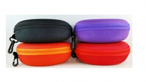 Case for glasses with zipper color mix  MJ7615
