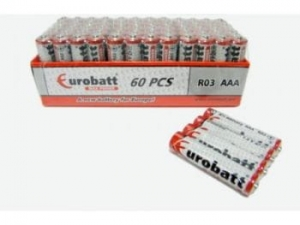 Batteries R3 Max Power Shrink 4 pcs EUROBATT SR3-SP4