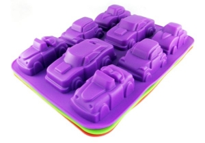 Silicone cake mold for cars   MB-9092