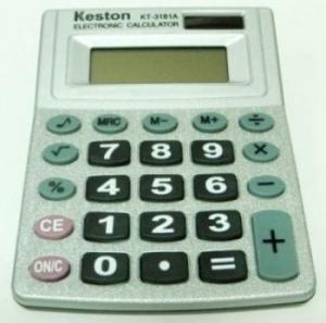 Calculator 8 digit MJ1056