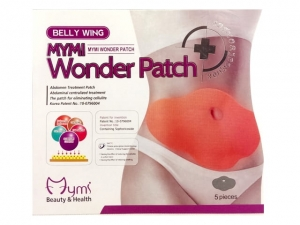 Wonder Patches - Abdomen Treatment Patches 5Pcs/Set   MB-6230
