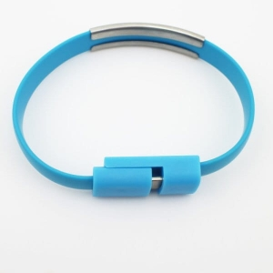 Cable bracelet charger USB / micro USB Iphone  MB-6679