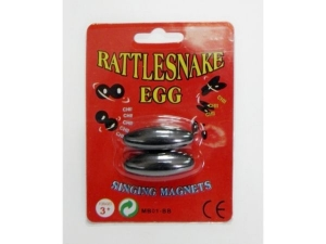 Magnets - Singing  Magnets; 2Pcs/Set, Oval    ME0041