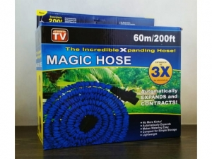 Garden hose with extension gun 60m 200ft   KQ0160