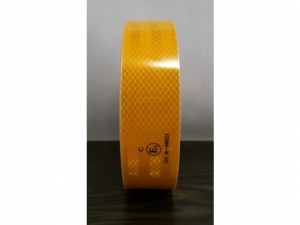 Retro reflective tape for yellow vehicles   MB-7872 Y