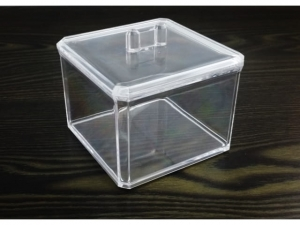 Acrylic cosmetic container with lid  MJ9712