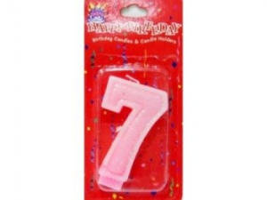 Birthday candles digits  MJ-0002